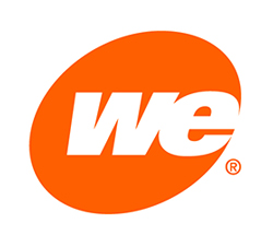 WE Energies Logo Orange Oval