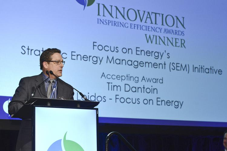 Accepting 2019 Innovation Award