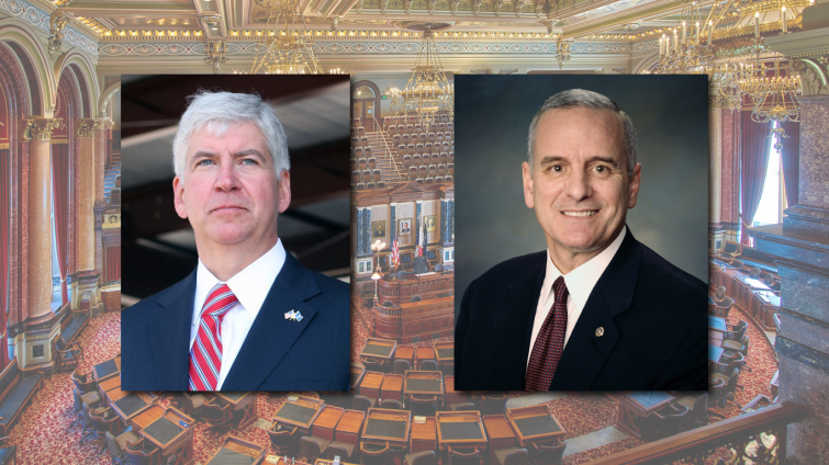 rick snyder and mark dayton