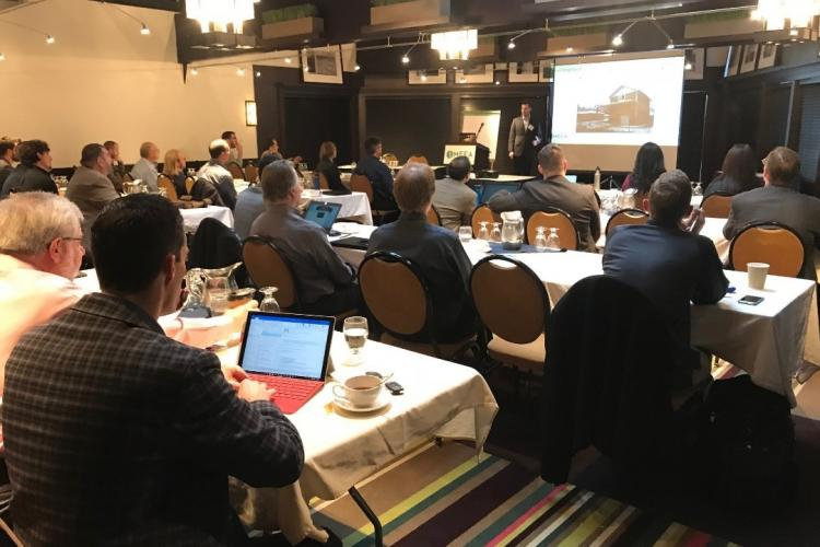 attendees at the 2017 Midwest Building Energy Codes Conference