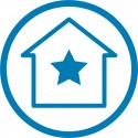 home with a star in it (energystar certified homes)